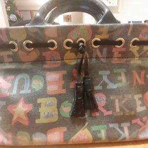 Small I Love Dooney Handbag